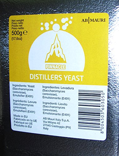 PINNACLE DISTILLERS YEAST 500g BRICK FOR SCOTCH AND IRISH WHISKEYS