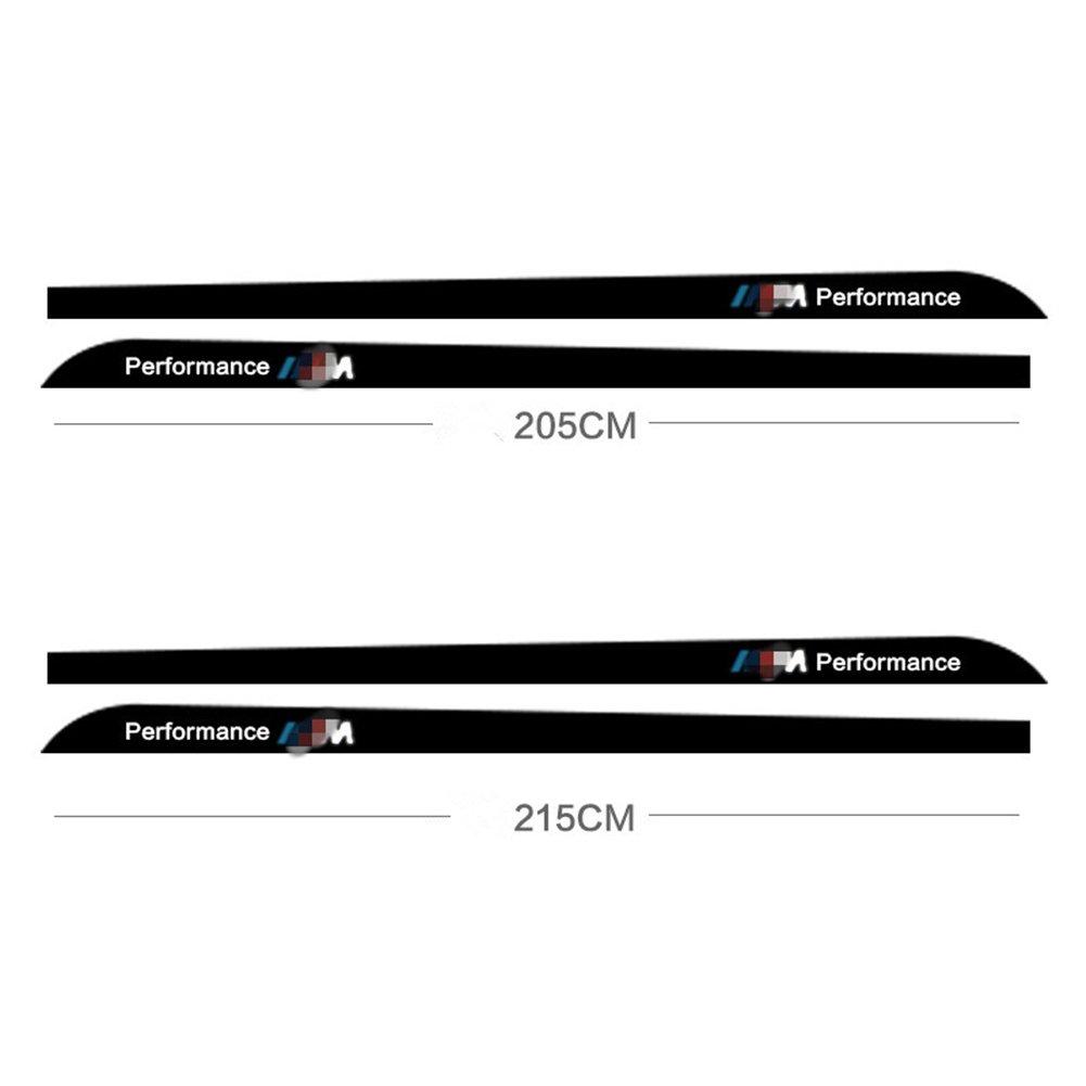 Amazon com deleika bmw special car decal carbon fiber pattern 2 x 2 15m sport m performance carbon fiber side skirt decal stripe sticker for bmw 1 3 4 5 6