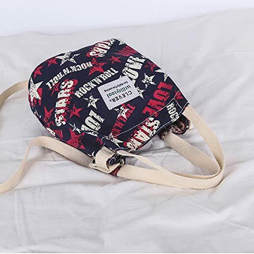 Quotidiano Secchio Semplice Tela Crossbody A Donna E Ynnb Per Tracolla Scuola Moda Shopping Stampa Viaggi Borsa La Lavoro Bag H1wU8q