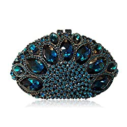 Women's Luxury Rhinestone Bag With Marquise Glass Crystal