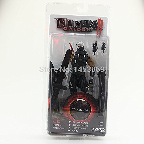 Amazon.com : Ninja Gaiden II Ryu Hayabusa Neca Player Select ...