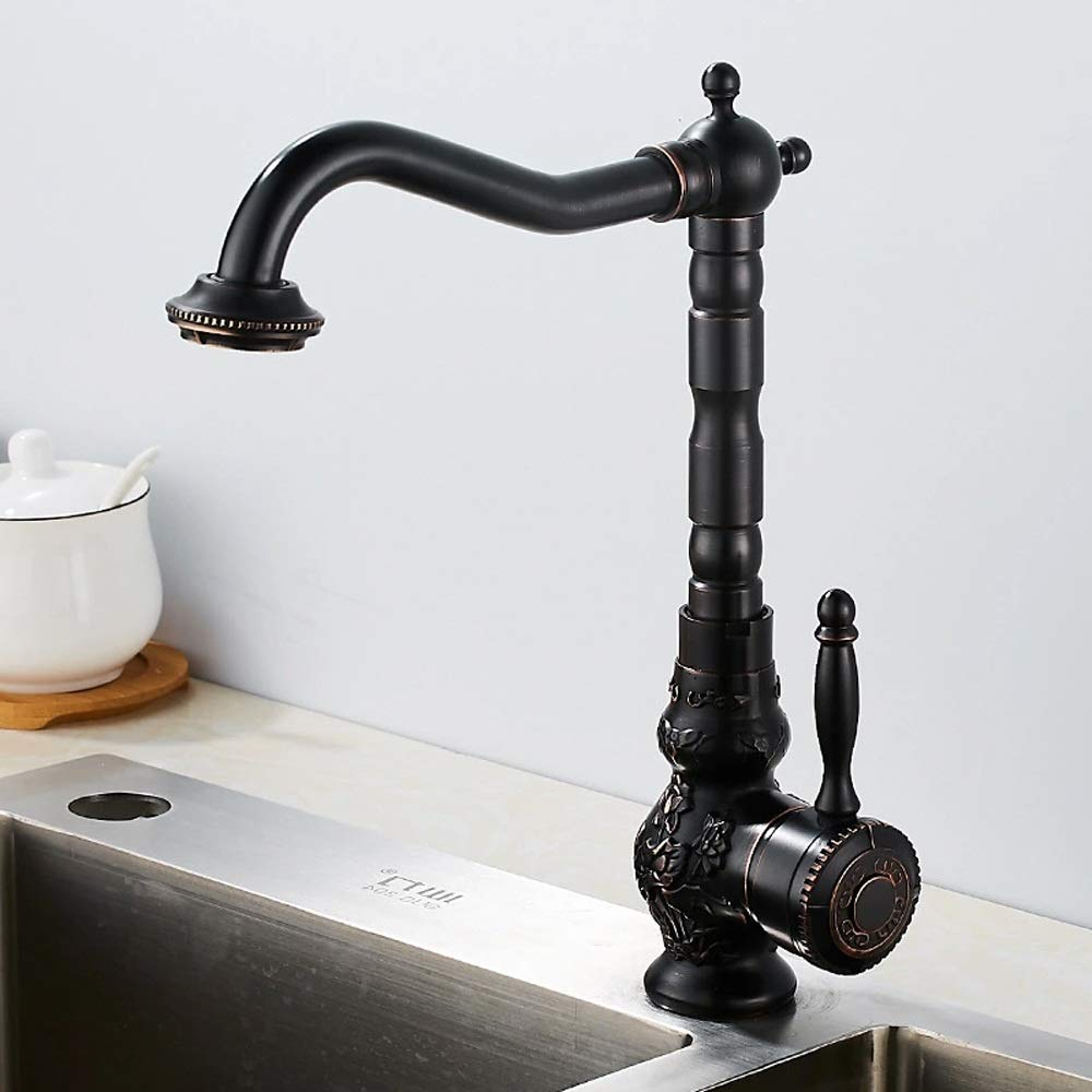 Brilliant Carved Water Tap Copper Faucet Bronze All Kitchen Style Download Free Architecture Designs Sospemadebymaigaardcom