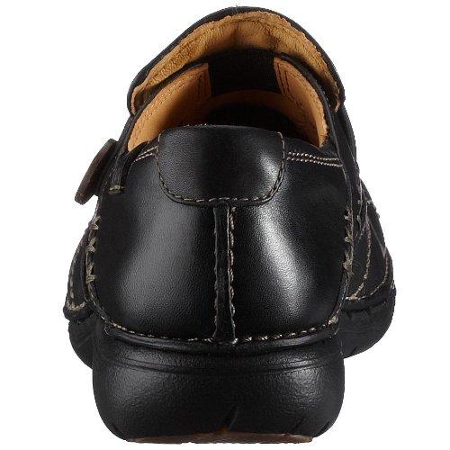 203128374030 Leather Black Leather Black lacets Chaussures Clarks Loop Noir à femme wtTy7qFf