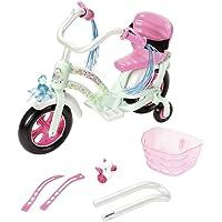 Zapf Creation 827208 Baby Born Play en Fun Fiets, Roze/Wit/Mint