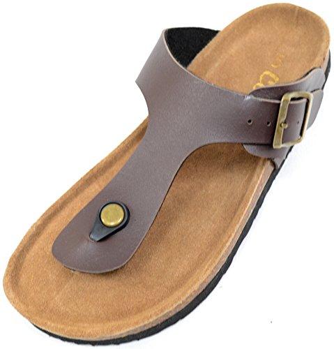 Mujer / Mujer Uflip Uflop Estilo Verano / Playa / Holiday Sandalias / Zapatos Marrón