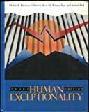 Human Exceptionality, Michael L. Hardman and Clifford J. Drew, 0205123724