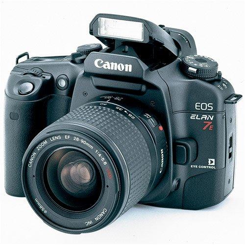 Amazon.com : Canon EOS ELAN 7E 35mm SLR Camera Kit w/ 28-90mm Lens ...