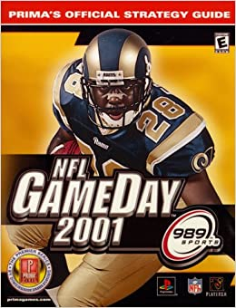 Book NFL Gameday 2001 (Prima's Official Strategy Guides)