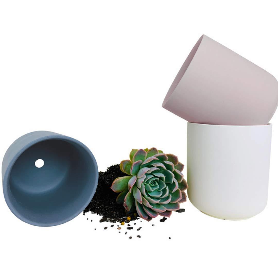 Soil Style 3.3 Inch Succulent Pots with Drainage, 3 Piece Succulent Planter Set, Small Plant Pot, Succulent Pot Set