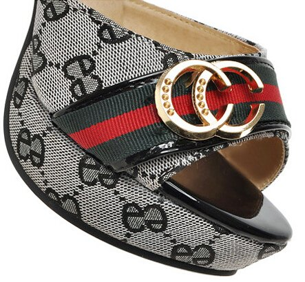 Laruise Women's Metal Decortive Foreign Trade Sandals Black cc84z