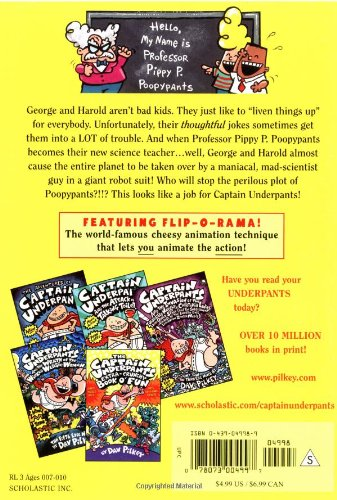 The Fourth Epic Novel Color Edition Captain Underpants and the Perilous Plot of Professor Poopypants