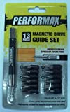 Performax 13 Piece Magnet Drive Guide Set