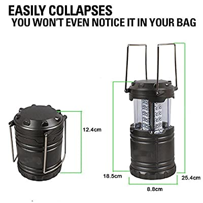 Ultra Bright LED Lantern - Best Seller - Camping Lantern - Collapses - Suitable for: Hiking, Camping, Emergencies,Hurricanes, Outages - Super Bright - Lightweight - Water Resistant - Flacy?
