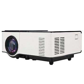 Proyector HD LED,Mini proyector,Proyector portátil de cine en casa ...