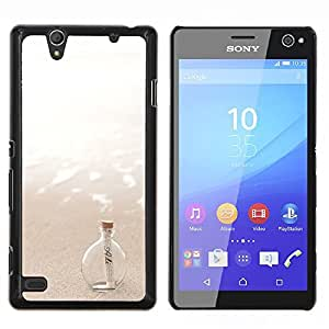 Stuss Case / Funda Carcasa protectora - Message In A Bottle Sea Sun Summer - Sony Xperia C4