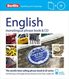 Berlitz English Phrase Book and CD (Phrase Book & CD)