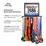 Gone For a Run BibFOLIO Plus Race Bib and Medal