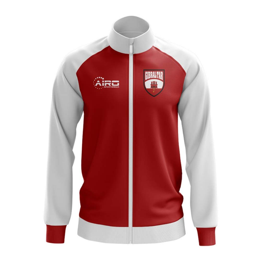 Airo Sportswear Gibraltar Concept Football Track Jacket (ROT)