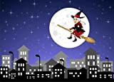 "La Befana Va in Citta' - 24""W x 17""H - Peel and Stick Wall Decal by Wallmonkeys"