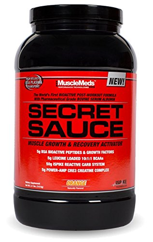 Muscle Meds Secret Sauce - Post-workout - Orange - 3.1 lb (1414g)