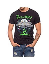 Jack Of All Trades Rick And Morty Ufo T-Shirt