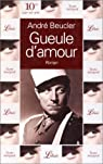 Gueule d'amour par Beucler
