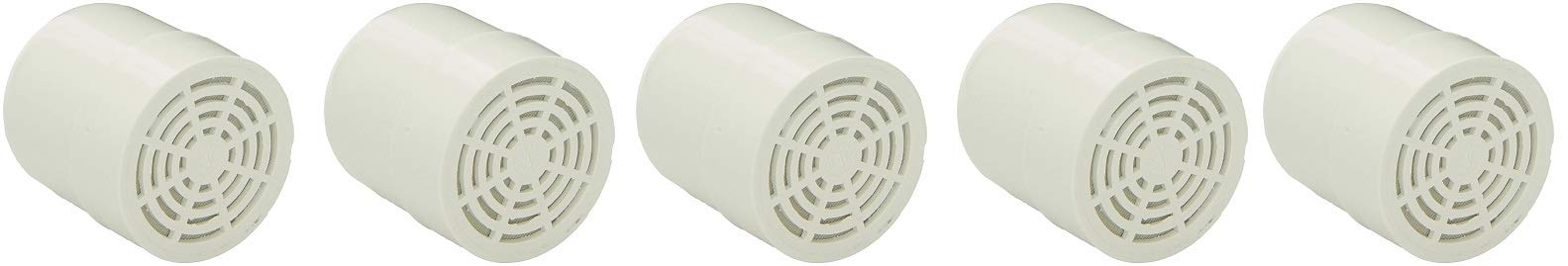 RAINSHOWR-RCCQ-A CQ1000 Filter Replacement Cartridge for Shower Filter (5-(Pack))