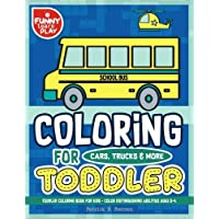Toddler Coloring Book for Kids: Color Distinguishing Abilities, Coloring Book for Toddler and Kids Ages 2-4 with Pictorial Lessons for Ease of ... Books for Kids and Toddlers) (Volume 2)
