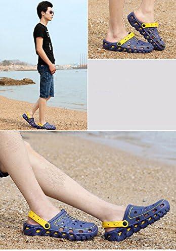 メンズ 靴 超軽量 サボ サンダル リゾート カジュアル 通気性 クロッグ 軽い 24.5cm-27cm