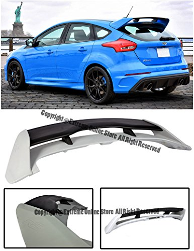 (Extreme Online Store EOS Body Kit Rear Roof Wing Spoiler - for Ford Focus Hatchback 13-Up 2013 2014 2015 2016 2017 RS)