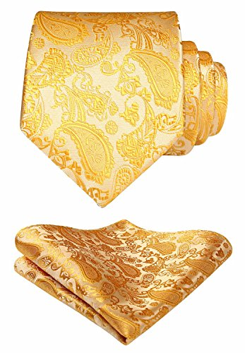 Handkerchief Necktie Set - 3