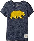 The Original Retro Brand Kids Boy's Cal Bear Mocktwist Tee (Little Kids/Big Kids) Mocktwist Navy 6