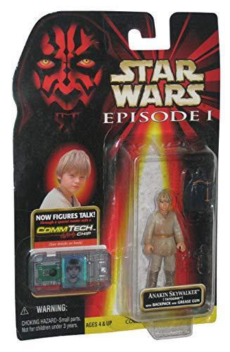 Star Wars Episode I with CommTech Chip - Anakin Skywalker - Figure Wars Star Chip Commtech