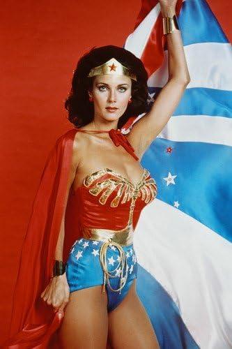Wonder Woman Lynda Carter Door Poster