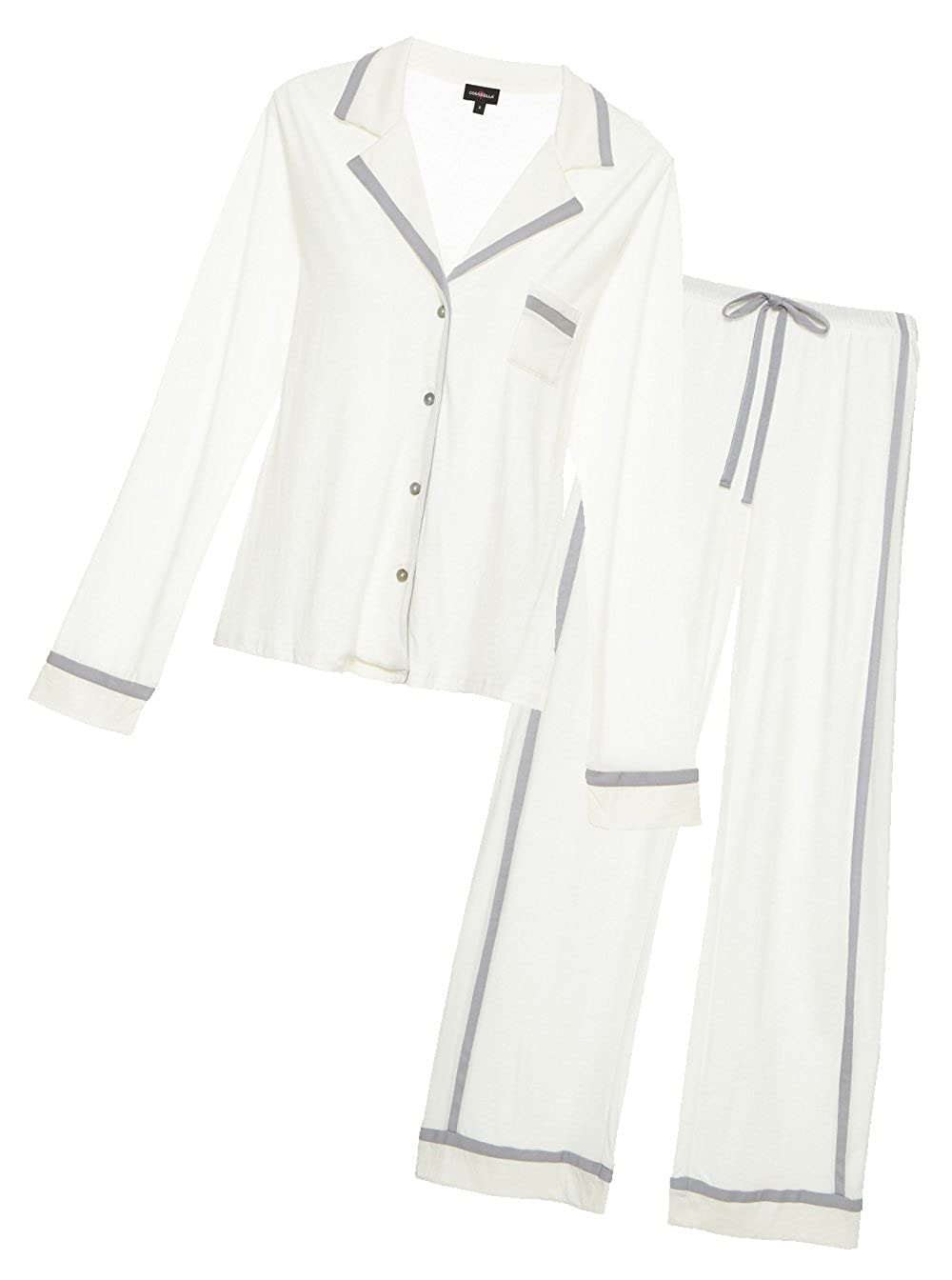 Cosabella Women's Bella Long-Sleeve Top and Pant Pajama Set Cosabella Women's IA AMORE9641