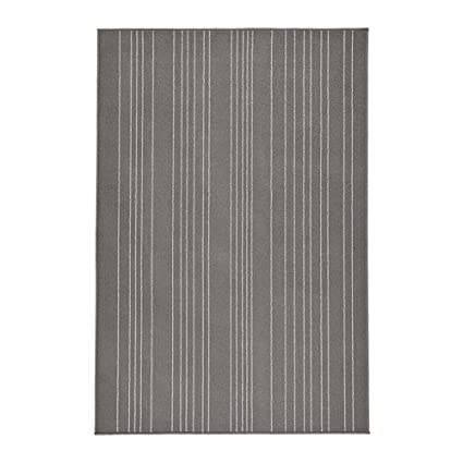 IKEA Hulsig - tappeto pelo corto, grigio - 120 x 180 cm: Amazon.it ...