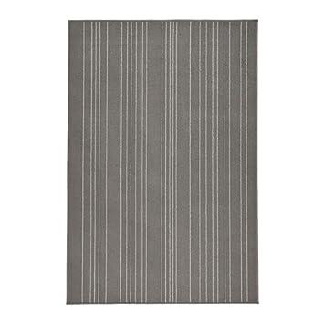 Amazon De Ikea Hulsig Teppich Kurzflor Grau 120 X 180 Cm