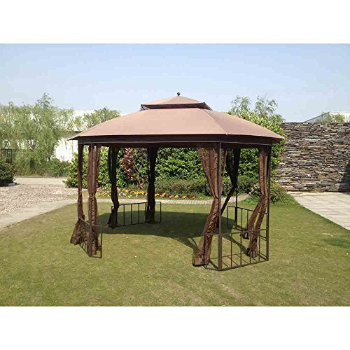 sunjoy Replacement Canopy Set for Catalina Easy Set Up Gazebo