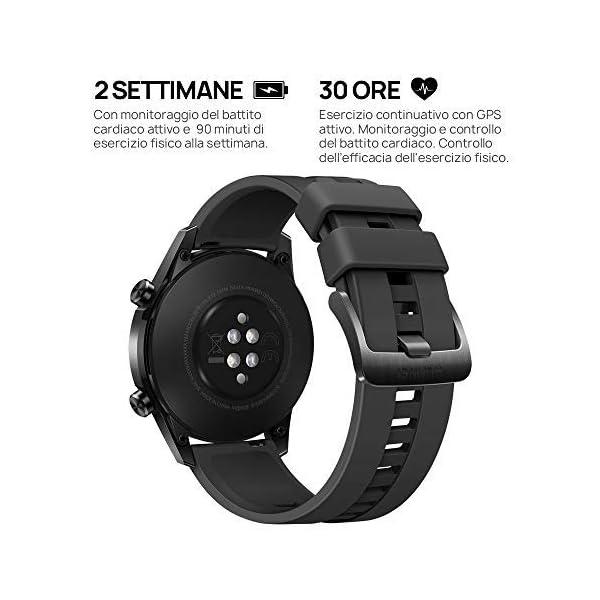HUAWEI Watch GT 2 Smartwatch 46 mm, Durata Batteria fino a 2 Settimane, GPS, 15 Modalità di Allenamento, Display del… 4