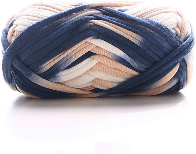T-Shirt Yarn,Trapilho,Zpagetti Yarn,Pet Cave T Shirt Yarn,Spaghetti Yarn,Tshirt Yarn,Recycled Yarn,Fabric Yarn DIY Knit Basket Crochet Bag Materials 100g