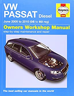 vw passat diesel service and repair manual 2005 to 2010 haynes rh amazon com 2005 volkswagen passat owners manual pdf 2005 volkswagen passat owners manual pdf
