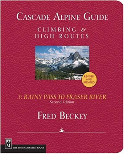 ''ZIP'' Cascade Alpine Guide: Climbing And High Routes. KOLON Nicklaus seeing Adelman State