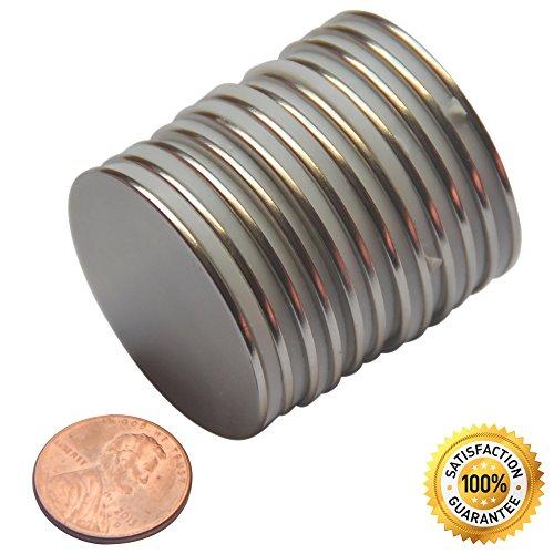 (12 Pcs N45 Neodymium Magnets 1.5