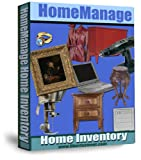 Software : HomeManage Home Inventory Windows Software