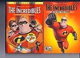The Incredibles, 2 Disc Plus, Incredibles Pc-cd Rom Print Studio