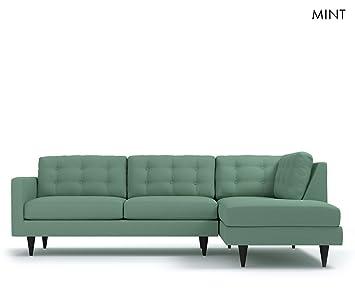 Fine Apt2B The Logan 2Pc Sectional Sofa Raf Mint Amazon Co Uk Machost Co Dining Chair Design Ideas Machostcouk
