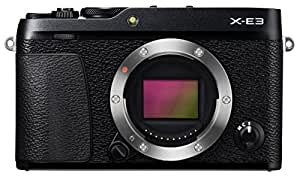 Fujifilm X-E3 Mirrorless Digital Camera (Body Only) - Black