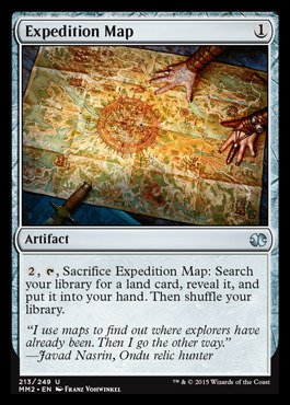 Magic: the Gathering - Expedition Map (213/249) - Modern Masters 2015 - Foil