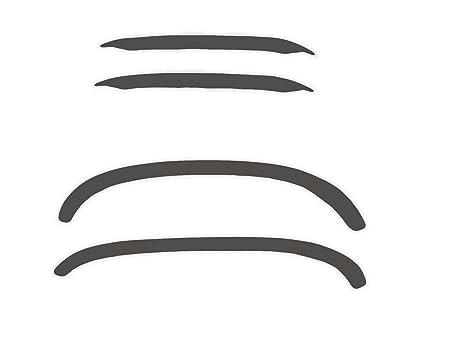 R.S.N. 141 para pintar rueda arcos, Fender tapacubos extensiones, para óxido: Amazon.es: Coche y moto