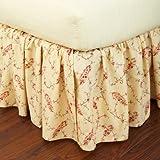 Best Lauren by Ralph Lauren Bed Skirts - Lauren by Ralph Lauren Mirabeau Paisley Red Floral Review